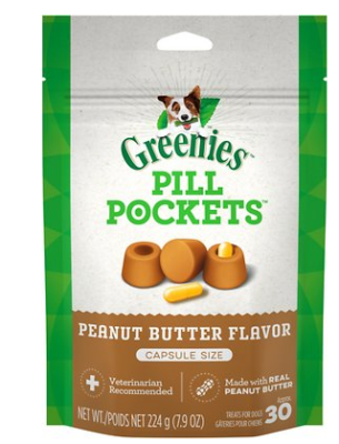 Greenies Pill Pockets Capsule Size any flavor